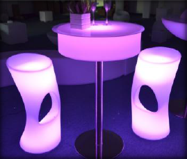 LED Cocktail Table Small