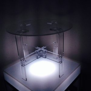 Acrylic Table round